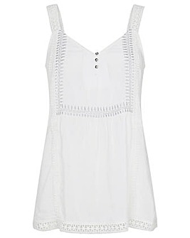 Monsoon LILY EMBROIDERED LACE CAMI