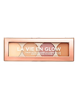 L'Oreal Paris Vie En Glow Highlighting Pallete Warm Glow