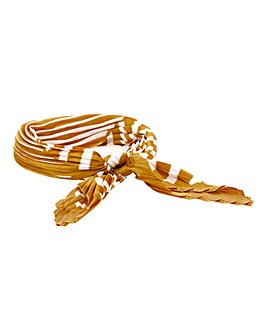 Mustard Tie Me Up Hair Scarf