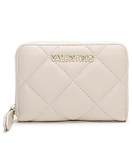 Valentino Bags Small Ocarina Quilted Zip Around Wallet