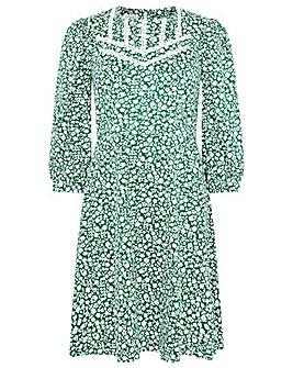 Monsoon Mona Ditsy Floral Jersey Dress