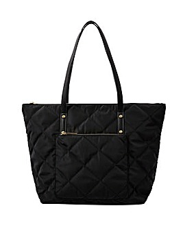 Accessorize Tilly Quilted Tote Bag