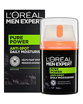 L'Oreal Men Expert Pure Power Anti-Spot Moisturiser