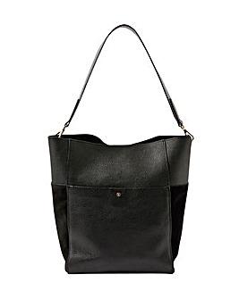 Accessorize Chloe Leather Shoulder Bag