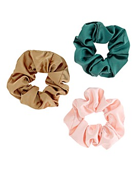 Satin Scrunchie Pack