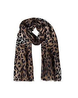 Accessorize Luna Leopard Print Scarf