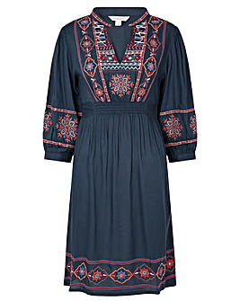 Monsoon Embroidered Dress