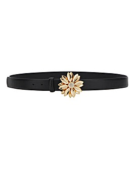 Flower Buckle Waist Belt
