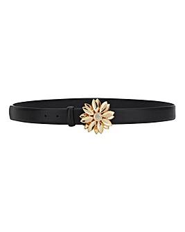 Flower Buckle Waist Belt