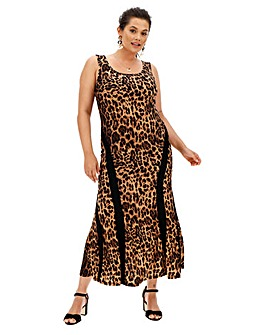 Joanna Hope Leopard print dress