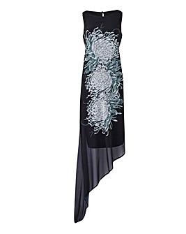 Joanna Hope Print Overlay Dress