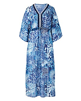 Joanna Hope Jewel Kaftan Maxi Dress