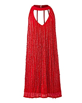 Joanna Hope Beaded Tassle Flapper Dress