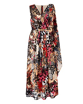 Joanna Hope Maxi Dress with Scarf