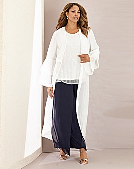 Joanna Hope Pleat Sleeve Jacket