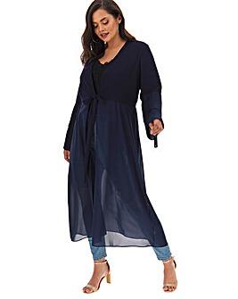 Joanna Hope Pleat Sleeve Jacket