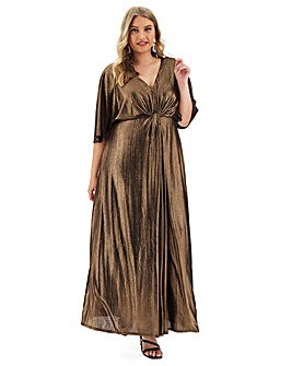 Joanna Hope Twist Knot Maxi Dress