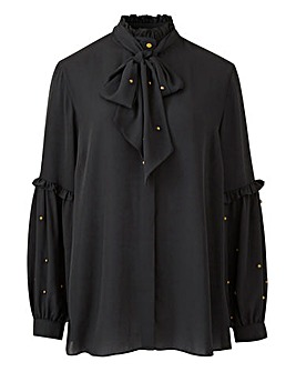 Joanna Hope Stud Blouse