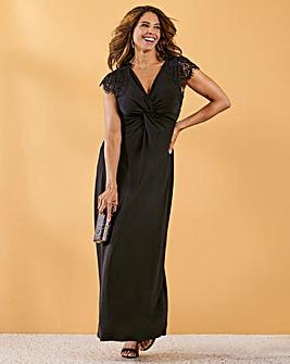 Joanna Hope Twist Front Dress