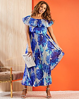 Joanna Hope Pleat Gypsy Dress