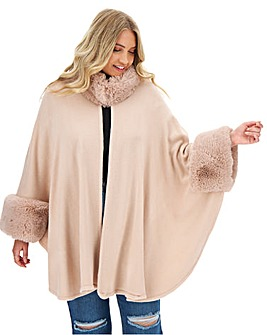 Joanna Hope Fur Cape