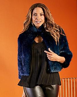 Joanna Hope Chubby Fur Jacket
