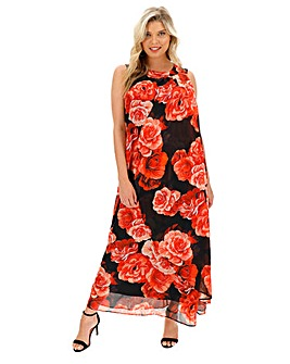 Joanna Hope Sleeveless Maxi Dress