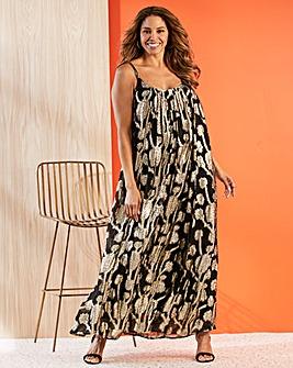 Joanna Hope Jaquard Swing Maxi Dress