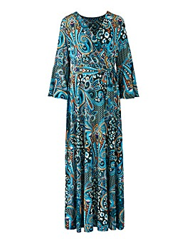 Joanna Hope Paisley Print Maxi Dress