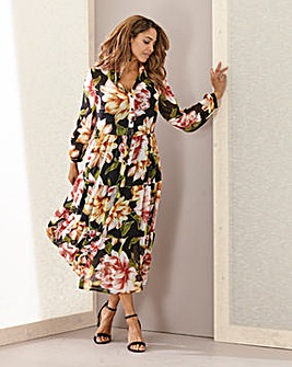 Joanna Hope Floral Gypsy Dress