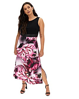 Joanna Hope Statement Floral Maxi Dress