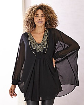 Joanna Hope Embellished Kaftan