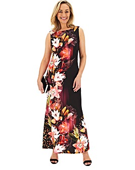 Joanna Hope Floral Bodycon Maxi Dress