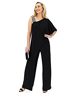 Joanna Hope Diamante Cocktail Jumpsuit
