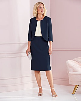 Nightingales Structured Dress and Jacket