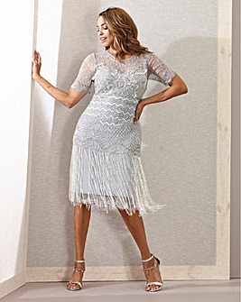 Joanna Hope Fringe Dress