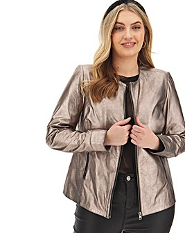 Joanna Hope Bronze Leather Biker
