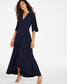 Joanna Hope Frill Hem Maxi Dress