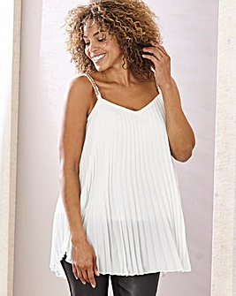Joanna Hope Pleat Swing Cami