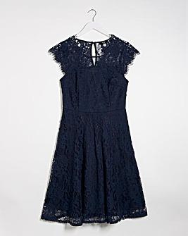 Joanna Hope Lace Fit N Flare Dress