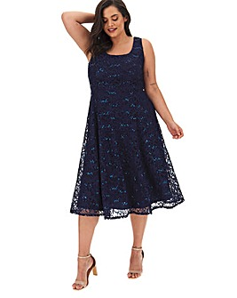 Joanna Hope Sparkle Fit N Flare Dress