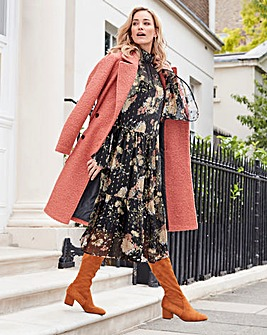 Joanna Hope Print Tiered Dress