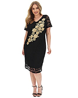 Joanna Hope Placement Lace Dress