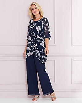 Nightingales Navy 2-Piece Trouser Set