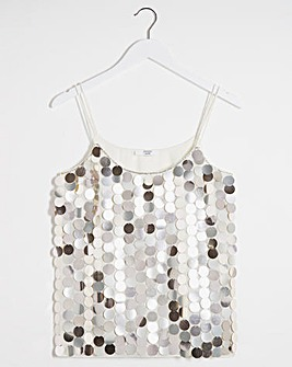 Joanna Hope Sequin Disc Cami