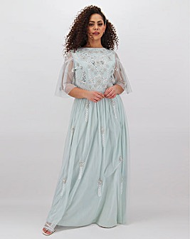 Joanna Hope Beaded Bridesmaid Maxi Dress
