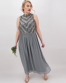 Joanna Hope Half Beaded Maxi