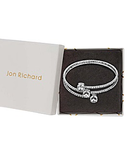 Jon Richard Crystal Centre Twist Bangle