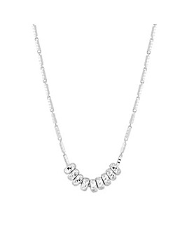 Simply Silver Mini Bead Allway Necklace