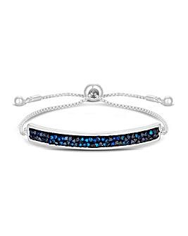 Jon Richard Swarovski Blue Bracelet